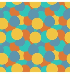 Unique abstract random seamless pattern vector image vector image