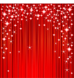 Christmas stars and stripes vector image vector image