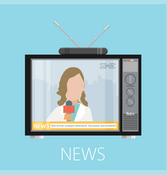 news concept design eps10 graphic vector image vector image