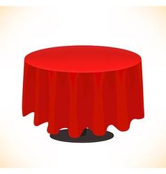 Fancy table design vector