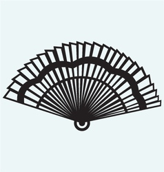 Folding fan vector image