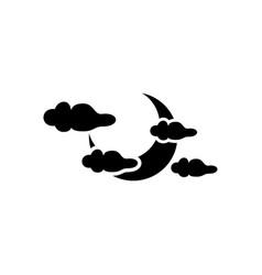 halloween sky icon vector image