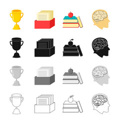 information study specialty and other web icon vector image