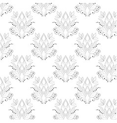 line black pattern with abstract for textures web vector image