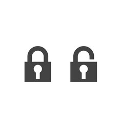 lock logo concept design vector image