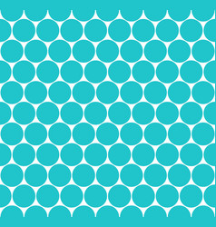 seamless pattern circular shapes vector image