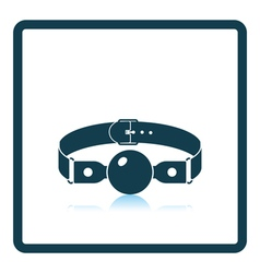 Sex gag icon vector image