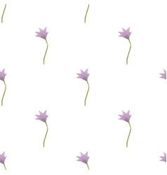 violet flower triangle shape pattern backgrounds vector image