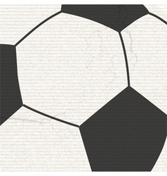 football background with grunge vector image vector image