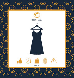 sundress evening dress combination or nightie on vector image vector image