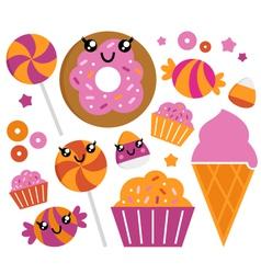 sugar candy vector image