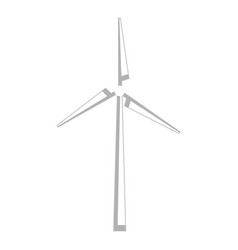 windmill energy alternative icon vector image vector image