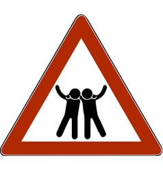 a symbol friends vector image
