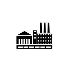 factory logo vector image