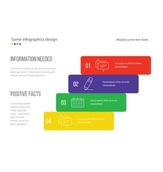 Infographic page template design Useful for vector