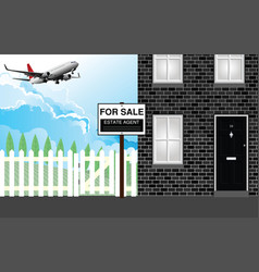 residential noise nuisance vector image