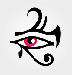 The eye of Horus vector