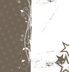grunge abstract background design vector image vector image