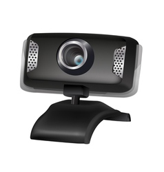 webcams vector image
