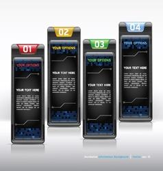 Modern web design template vector image vector image