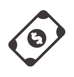 bill cash money to buy vector image