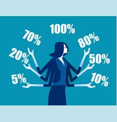 Business promotions discounts sale concept vector