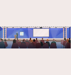businesspeople at business meeting vector image