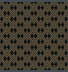 geometric pattern seamless background vector image