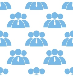 Leader seamless pattern vector image