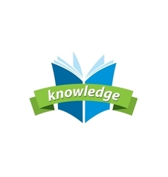 Logo knowledge vector