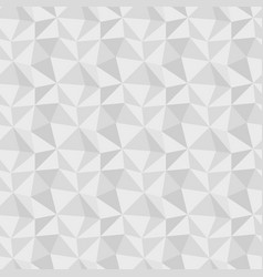 low poly gray seamless background vector image
