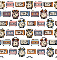Pattern with clock vector
