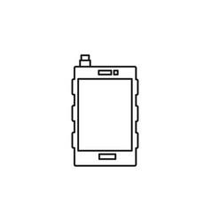 pda icon vector image