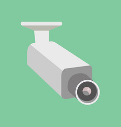 security camera cctv cartoon vector image