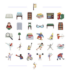 Education tournaments business and other web vector
