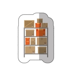 Delivery and logistic vector image
