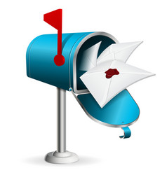 Mailbox vector image