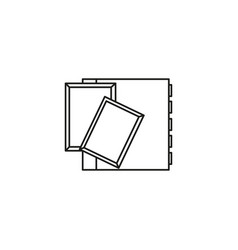 photoalbum icon vector image