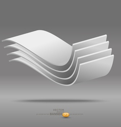 Abstract Poster Background vector image vector image