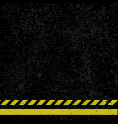 asphalt with yellow lines vector image