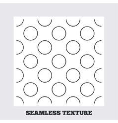 Circles stripped geometric seamless pattern vector image