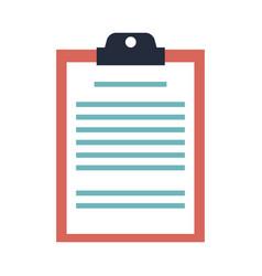 Clipboard board document office list business vector