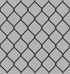 rabitz seamless pattern mesh netting ornament vector image
