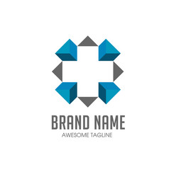 Cross plus medical logo icon design template eleme vector
