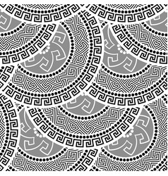 greek seamless ornament vector image vector image