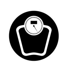 scale balance lifestyle icon vector image