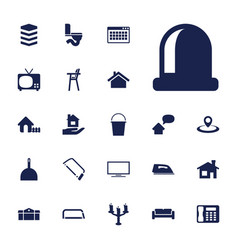 22 home icons vector