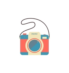Camera Isolated on a white background vector image