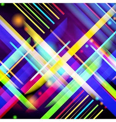 Digitally generated image colorful light and vector