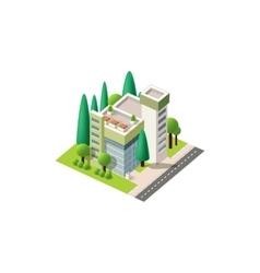 Isometrics hospital vector
